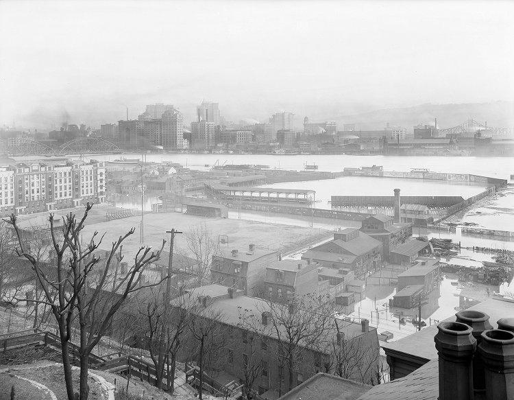 Exposition Park Flood