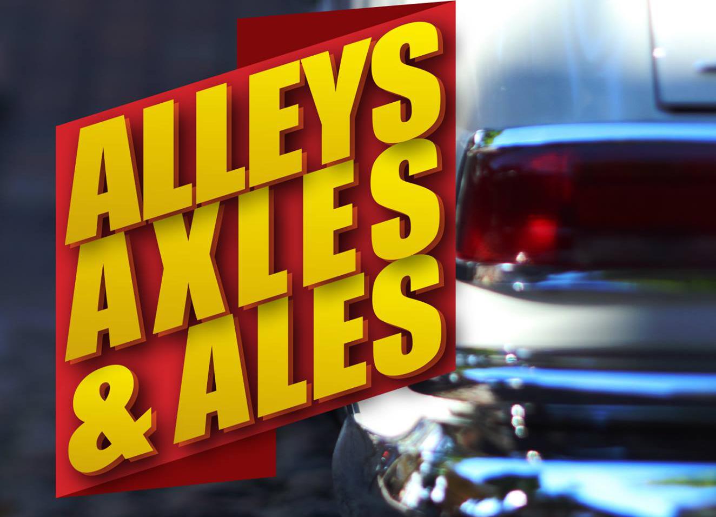 Alleys, Axles & Ales 2018 Poster